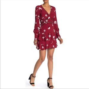 Bardot Tammy Ruffle Hem Dress Size 8